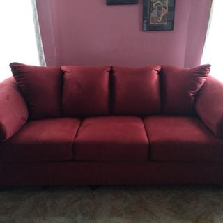 This sofa is firm and very comfortable. I bought it for my mom. I love it!