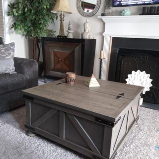 I love my Aldwin Coffee Table with Lift Top!