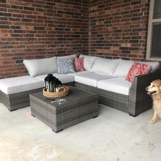 We love our outdoor sectional! Stylish, comfortable, and great quality.