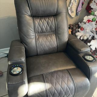 This recliner is hands down awesome! Everything about it I love. Definitely worth the buy!