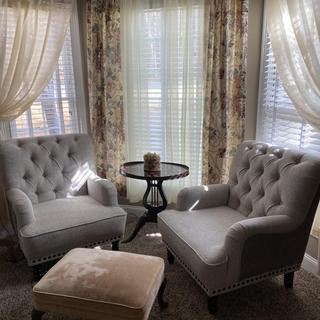 Pretty chairs!