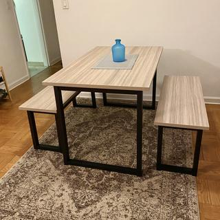 Love our new dining table