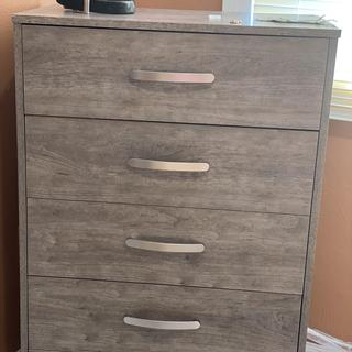A well made chest of drawers. Assembly is very simple and furniture is high quality.