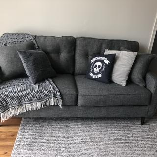 Love my new comfy couch! Looks great in my apartment!