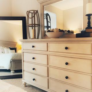 Marsilona Dresser in my guest bedroom.