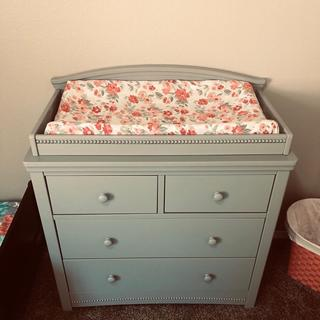 We LOVE this dresser. It was super convenient when my daughter was little!