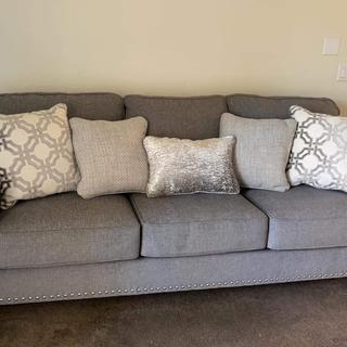 In love with my new sofa.