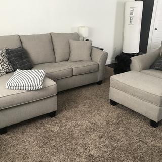 Very happy with the Kestrel collection. We bought the sleeper sofa, ottoman and chair!