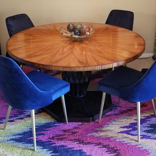 Beautiful, colorful Trishcott Dining Chairs