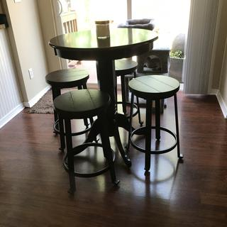 Perfect for counter height table