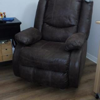 My personal great bedroom recliner!