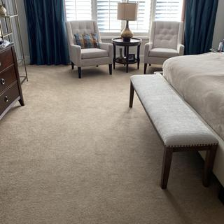 Great fit for a king size bed… Doesn't have to be used in a dining room!!