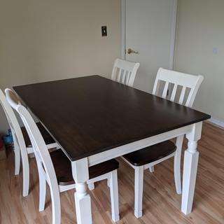 Pretty table but it scratches very very easily.