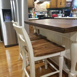 This island brought my kitchen to life. Ashley home  your  furniture is well made