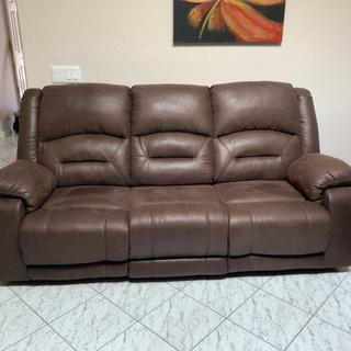 Awesome recliner. Has lumbar and head support as well.