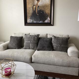 Soletren Queen Sofa Sleeper  in the living room