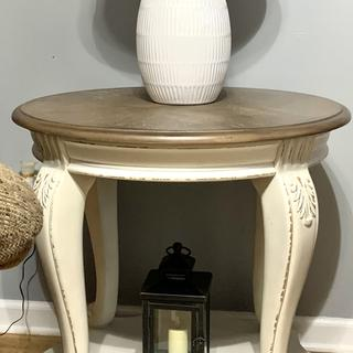 Very sturdy and elegant. I love the end tables.