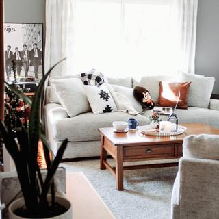 Love this couch + also bought the oversized chair! The color, comfort and size are all great.