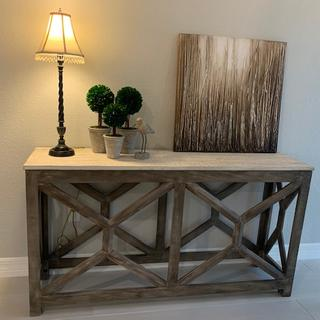 Beautiful console table.