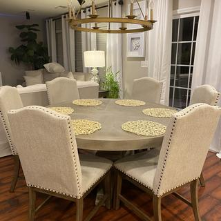 Beautiful chairs! Make my space look amazing!