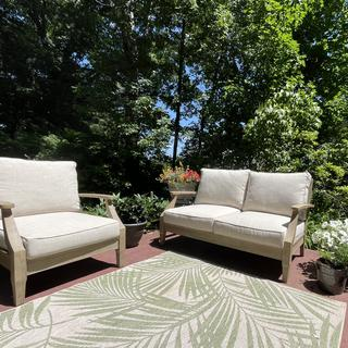 We love our loveseat and 2 chairs (one out of photo)!
