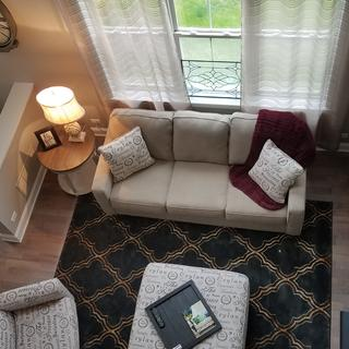 My living room with the Natalius rug