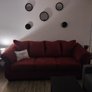 Great sofa, love the color!