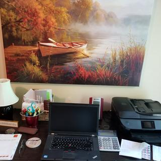 My desk and picture