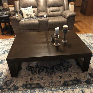 Watson coffee table from Ashley