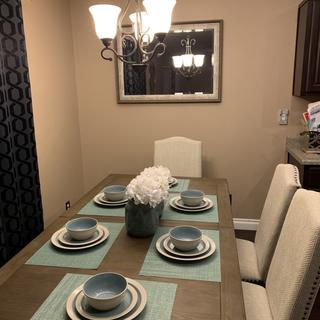 Love the Johnelle dining set.