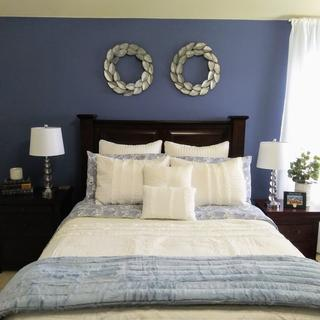 Loved them! Very pretty, sturdy and great quality. Went perfect with the room.