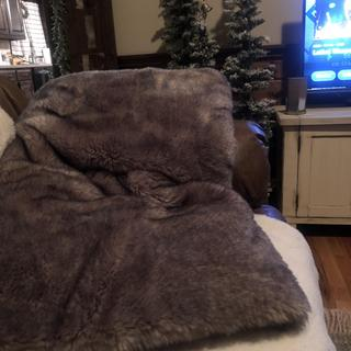 Absolutely love !!! This is the softest most luxurious feeling blanket ever