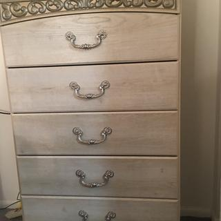 I Love it.  The drawers are very deep!  And it's the exact design with my bed.. matches perfectly