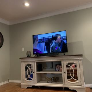 we love our tv stand-adding matching pieces
