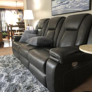 We love our recliner sofa!