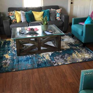 """Home Accents Pepin 5' 3"""" x 7' 6"""" Area Rug"""