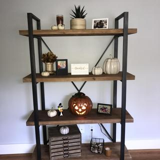 Love this piece from Ashely! Great display for holiday decor.