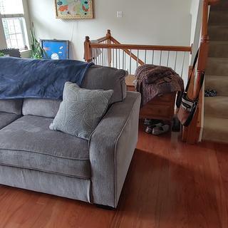 Altari Sofa (non sleeper sofa) comes with 2 throw pillows