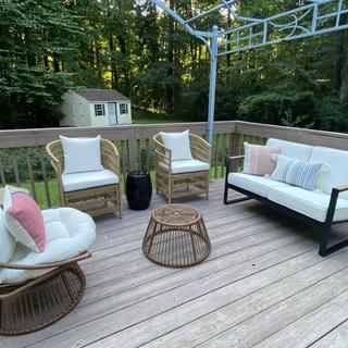 Covid back porch makeover