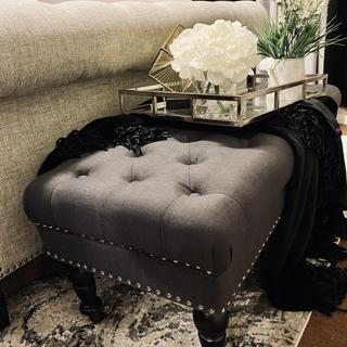I love this bench it adds to my decor and is very stylish