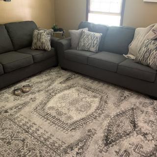 I am enjoying these sofas.