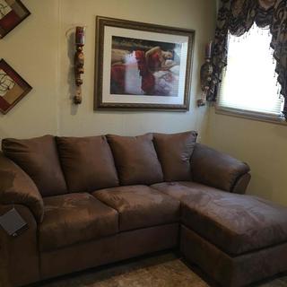 "Optional(""Darcy Sofa Chaise"") Image 0"