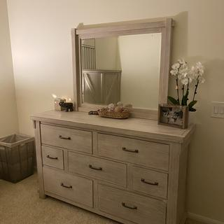 Lots of cute drawers for the dresser