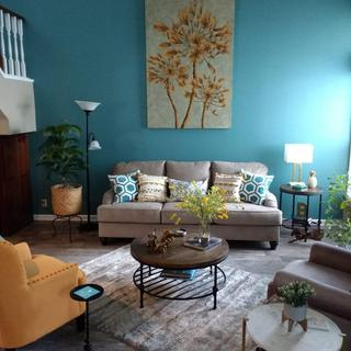 """The Fermoy 91"""" sofa looks perfect in my living room!"""