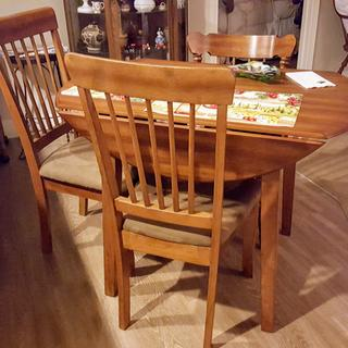 Love our Berringer Dining Table we bought from Ashley Homestore.