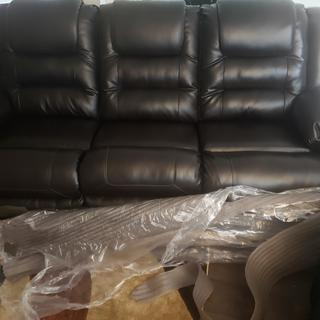 We love the couch. It is so comfortable. Delivery was on time and went smoothly!