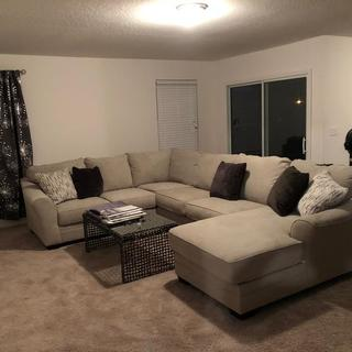 My new sectional sofa!