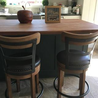 My two new bar stools.