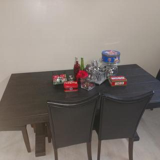 Our new kitchen table for Christmas!