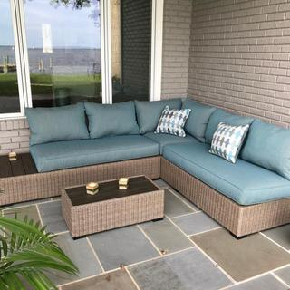 Ashley Silent Brook 3 piece outdoor sectional